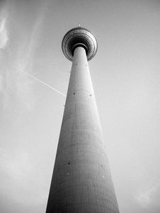 Free Fernsehturm, Tv Tower In Berlin Stock Images - 4676784
