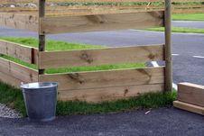 Bucket Fence Stock Image