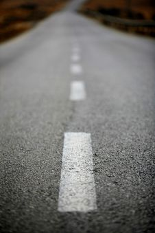 Free Endless Road Stock Image - 4677141