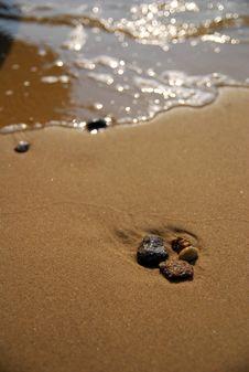 Sandbank Royalty Free Stock Photos