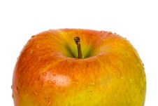 Free Apple And Water Drops Stock Images - 4677364
