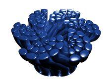 Free Shiny Blue Tube Abstract Royalty Free Stock Photo - 4677725