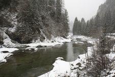 Free Winter Landscape, Switzerland Stock Photos - 4678353
