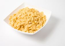 Free Bowl Of Flakes Royalty Free Stock Photo - 4679265