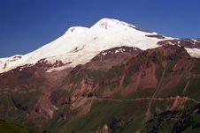 Free Mountain Elbrus. Stock Image - 46746611