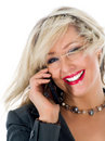Free Business Woman  Calling Royalty Free Stock Photos - 4680848