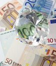 Free Euro Notes And Diamonds Stock Photography - 4683132