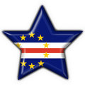 Free Cabo Verde Button Flag Star Shape Stock Photography - 4686632