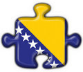 Free Bosnia Button Flag Puzzle Shape Royalty Free Stock Photo - 4689675