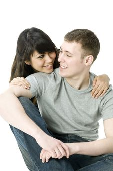 Free Young Couple Together Royalty Free Stock Photo - 4680425