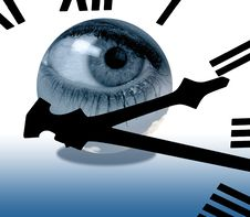 Free Eye In Time Stock Photo - 4680540