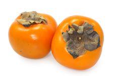 Free Orange Persimmon Stock Photography - 4680762