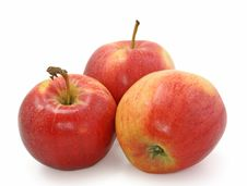 Free Three Apples Royalty Free Stock Images - 4680869