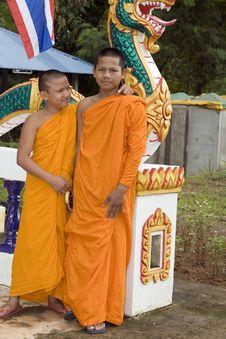 Free Buddhist Monk Royalty Free Stock Image - 4681756