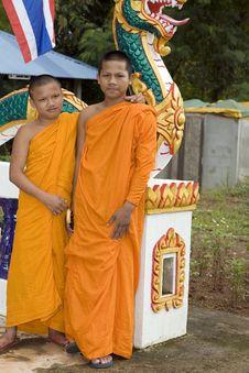Free Buddhist Monk Royalty Free Stock Photography - 4681767