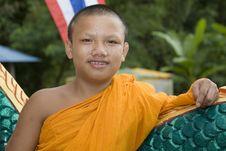 Free Buddhist Monk Stock Image - 4681821