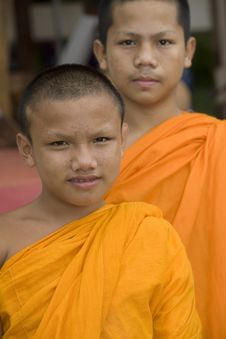 Free Buddhist Monk Royalty Free Stock Photography - 4681857