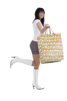 Free Shoppers Woman Stock Photography - 4681922