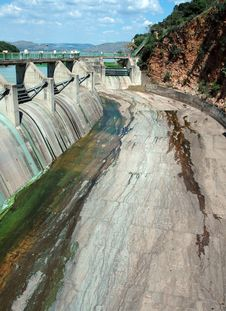 Free Dam Wall Royalty Free Stock Photography - 4682767