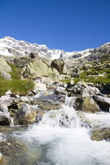 Free Mountain Stream Royalty Free Stock Photos - 4682958
