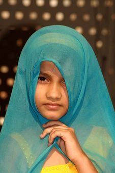 Free Innocence Muslim Girl Royalty Free Stock Photos - 4683338