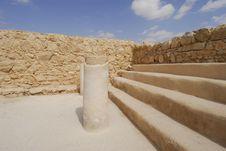 Free Masada Fortress Stock Photo - 4683490