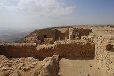 Free Masada Fortress Royalty Free Stock Image - 4683516