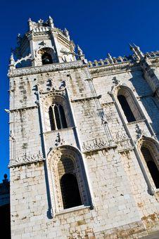 Free Jeronimos Monastery Stock Image - 4683871