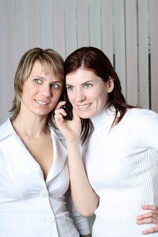 Free Two Girls Stock Photos - 4684103