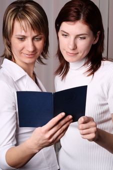 Free Two Girls Stock Photography - 4684292