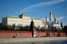 Free Moscow Great Kremlin Palace Stock Photos - 4684863