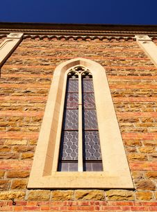Free Church Window Royalty Free Stock Image - 4684956
