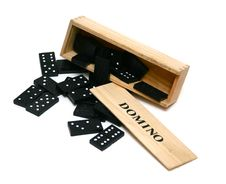 Free Play Domino Stock Images - 4685014