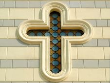 Free Cross Shaped Window Stock Photography - 4685072
