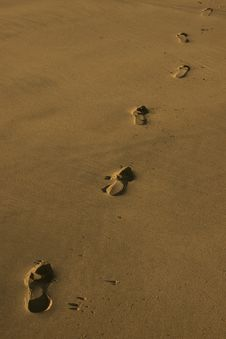 Free Footprints 1 Stock Photography - 4685292