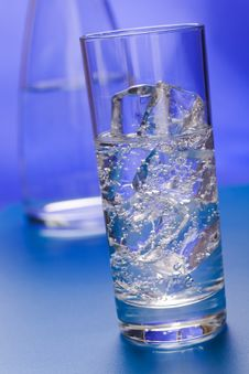 Sparkling Water Stock Image