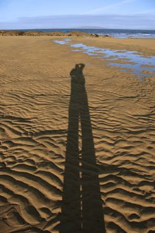 Free Me And My Shadow Stock Photo - 4685470