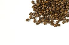 Free Coffee Beans Background Stock Photography - 4685592