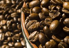 Free Coffee Beans Background Stock Images - 4685604