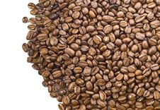 Free Coffee Beans Background Stock Image - 4685611