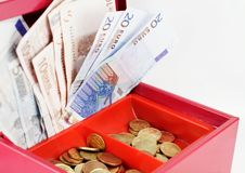 Cash-box Royalty Free Stock Photography