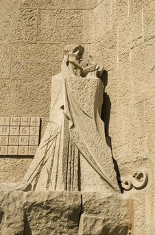 Free Details Of Sagrada Familia In Barcelona Royalty Free Stock Photo - 4686885