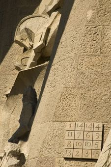Free Details Of Sagrada Familia In Barcelona Royalty Free Stock Images - 4686889