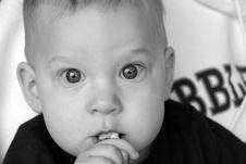 Free Baby Boy Portrait Infant Child Stock Photos - 4687253