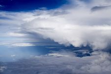 Free Clouds - View From Flight 36 Royalty Free Stock Photo - 4687795