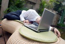 Asleep On The Job Stock Images