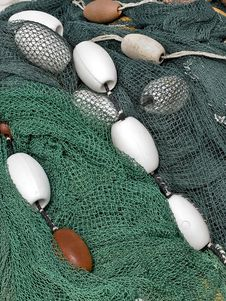 Free Fishing Net Stock Photo - 4688360