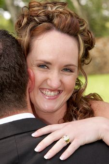 Free Bride Hug Stock Images - 4688644