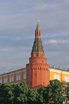 Free Kremlin. Tower Royalty Free Stock Images - 4688929