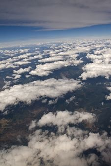 Free Clouds - View From Flight 61 Royalty Free Stock Images - 4689129